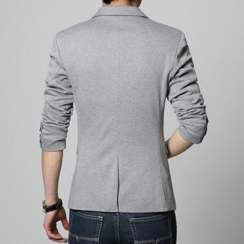 2018 new arrival blazer men cotton linen soild 4 color men suit plus size men blazer slim fit blazer men suit jacket 4XL 5XL 6XL