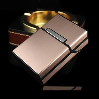 Fashion Pipe Creative Cigaret Case Cigarette Box Aluminum alloy Gift Box Cigarette Accessories Lighters & Smoking Accessories