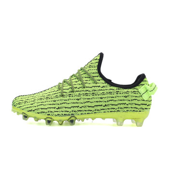 2016 New Soccer Cleats For Men Football Boots Original Traning Football Boots With Spikes Green/Black Mens Outdoor Training Shoe