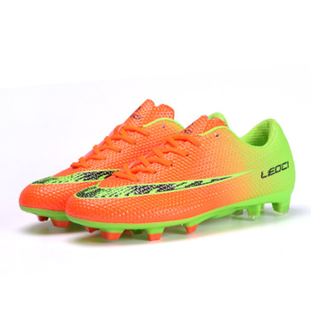 Men Broken Nails Football Shoes Long Spikes Soccer Cleats For Adult & Children Newest Training Football Boots TF FG Sneakers