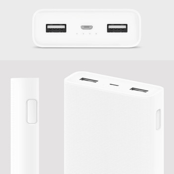 Xiaomi Power Bank 20000mAh 2C Quick Charge 3.0 Powerbank Portable Charger External Battery for mobile phone Samsung Iphone