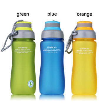 CURGE Brand BPA 600ml Leak Proof Sports Plastic Water Bottle Portable Rope With Tea Insuser Drop #1123