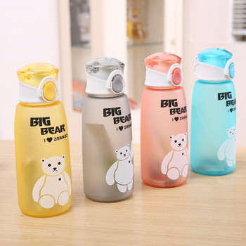 500ml Water Bottle Leakproof Tritan Material My Sports Drink Top Quality Tour hiking Portable Climbing Camp Bottles H1016