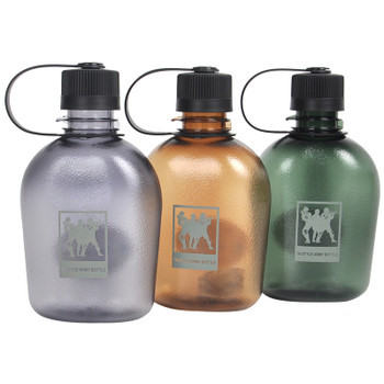 Tiartisan Army Plastic Canteen Water Bottle for Outdoor Sports Travel Hiking Climbing Military portable water bottle