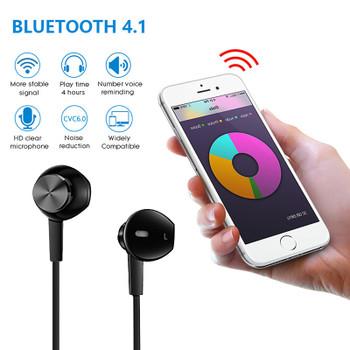 Vchicsoar i8 Bluetooth Earphone with Mic Headphones Sport Wireless Earphones Stereo Magnetic Headset Earbuds for Xiaomi Samsung