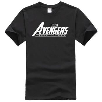 2018 New Fashion Brand MARVEL tees AVENGERS INFINITY WAR T-Shirt Men Cotton Short Sleeves Casual Male Tshirt Marvel T shirts Men