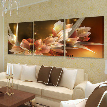 flower canvas print wall paintings modern art decorative pictures oil modular painting on deco maison decoration home picture