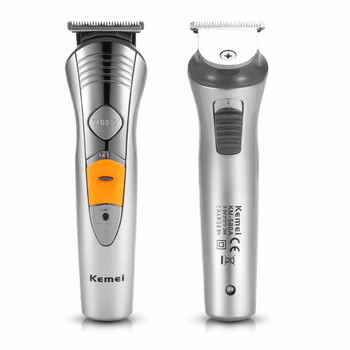 KEMEI Professional Men Electric Shaver Razor Beard Hair Clipper Trimmer Grooming AC 220-240V Beard Razor Haircut Trimmer Set