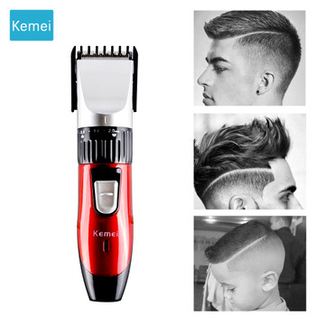 kemei hair trimmer clipper rechargeable hair cutting beard trimmer styling tools hair shaving machine electric shaver for man 4