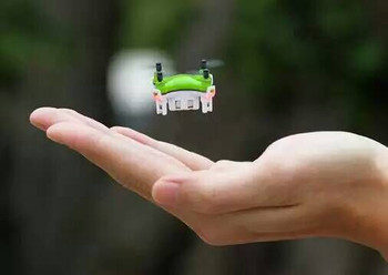2020 New Product Dron Mini 2.4G 4CH Pocket Drone 3D Roll Light Handheld Toy Remote Control Helicopter for Kids