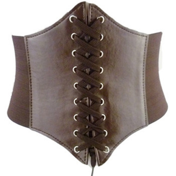 HIRIGIN 2017 Women Leather Body Shaper Buckle Waistband Women Elastic Extra Wide TIGHT Corset Tie High Waist Slimming Belt