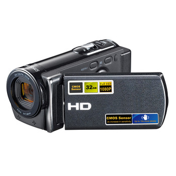 HDV-601S Digital Camera 16X Zoom 1080 Full HD 5MP CMOS Sensor Photo Camera Professional Digital Camcorder Support Smile Capture