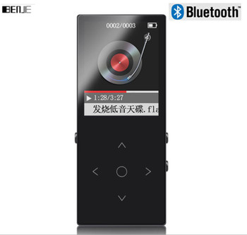 New BENJIE K8 Bluetooth MP3 Player Touch Screen FM Radio Record Ebook Lossless Music APE FLAC Digital Audio Player 8GB Sports