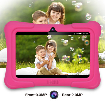 Dragon Touch Newest 7 inch Kids Tablets PC Quad Core 8G ROM Android 5.1 With Children Apps Dual Camera PAD for Children