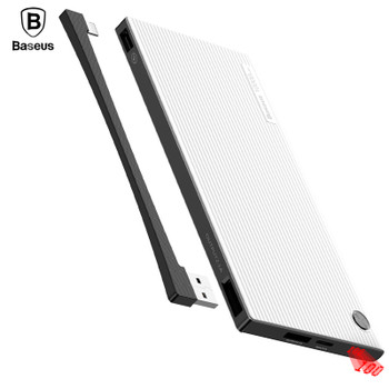 Baseus 10000mAh Power Bank LCD Battery Charger For iPhone iPad Samsung Xiaomi Dual USB Powerbank Mobile Phone External Battery