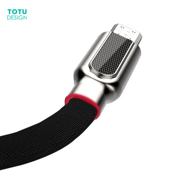 TOTU Micro USB Cable For Samsung Xiaomi Huawei Fast Charger USB Data Cable 1m Microusb Charging Cable Android Mobile Phone Cable