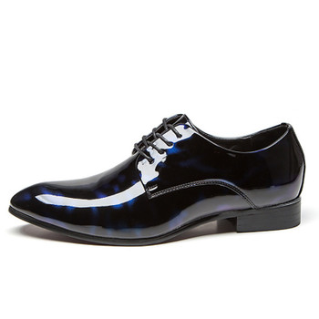 COSIDRAM Men Formal Shoes Pointed Toe Business Wedding Patent Leather Oxford Shoes For Men Dress Shoes Plus Size 49 50 RME-321