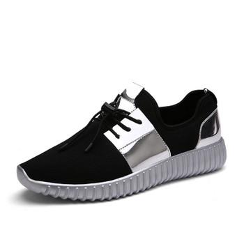2017 New Summer Breathable Shoes Men Flat shoes Autumn Fashion  Men Shoes Couple  Casual  Shoes Plus size 35-46
