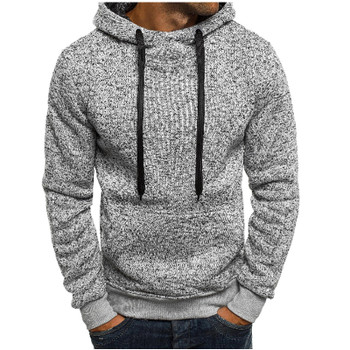 2018 New Fashion Mens Hoodies Brand Men Solid color Sweatshirt Male Hoody Hip Hop Autumn Winter Hoodie Mens Pullover XXL
