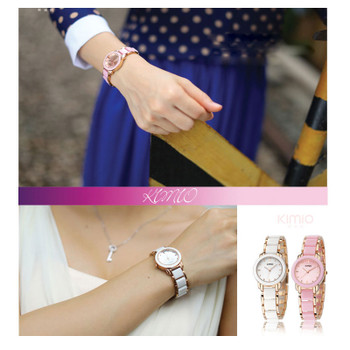 women quartz watches fashion lady bracelet watches KIMIO brand 2017 gift clock dress watch luxury female gold wristwatches