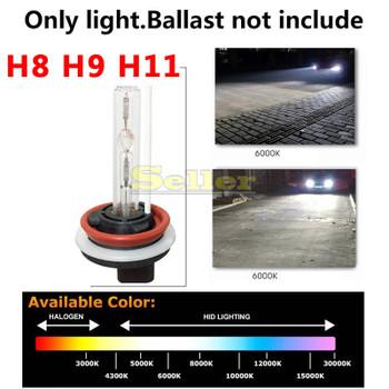H8 H9 H11 HID Xenon Bulbs White Replacement 3000K-15000K 12V 35W 55W Car Headlight Bulb Fog lights Lamp Car Light Source Auto