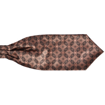 en Vintage Polka Dot Wedding Formal Cravat Ascot Scrunch Self British style Gentleman Polyester Neck Tie Luxury