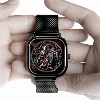 Xiaomi CIGA Design Hollowed-out Mechanical Wristwatches Watch Smart Full-automatic Movement Watches Men Women Fashion Bracelet