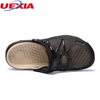 UEXIA Mens Flip Flops Sandals Breathable Casual Shoes Summer Fashion Beach Flip Flop Slippers Sapatos Hembre Sapatenis Masculino