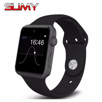 Slimy DM09 Bluetooth Smart Watch for Apple Watch 2.5D ARC HD Screen Support SIM Card Smartwatch For IOS Android Smartphone