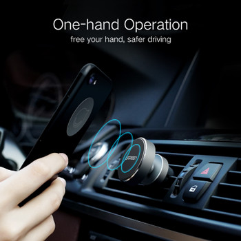 Ugreen Magnetic Phone Car Holder 360 Degree Mobile Phone Holder for iPhone 8 X 7 6S Mount Holder for Samsung S9 S8 Holder Stand