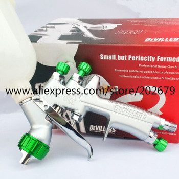 1.2mm spray gun paint spray gun DEVILLEBS mini spray gun Gravity Feed Paint pot volume 250ml mini paint sprayer