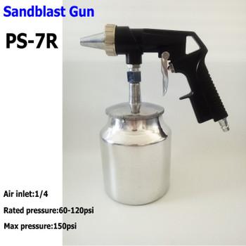 sandblast gun PS-7R sandblaster kit SAND BLAST GUN black color