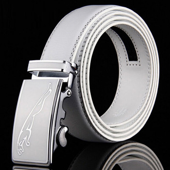 Factory Outlet 2017 Hot New Brand High-grade Jaguar Automatic Buckle Belts Men Business Casual Leather Luxury Belt