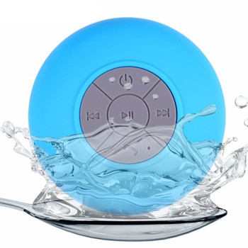 Bluetooth Speaker Portable Mini Wireless Waterproof Shower Speakers for Cell Phone MP3 Bluetooth Receiver Hand Free Car Speaker
