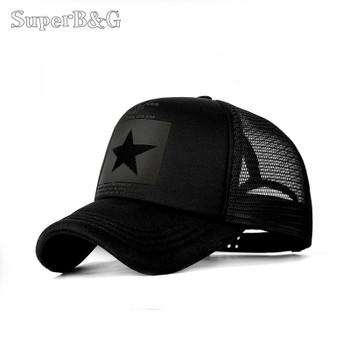 uperB&G 2018 Fashion Summer Baseball Cap Women Men Mesh Breathable Snapback Cap Unisex Adjustable Sport Hats Dad Hat Bone