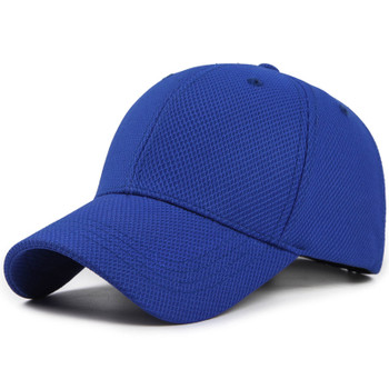 Summer Unisex Baseball Cap for Women Men Mesh Baseball Cap Male Bone Snapback Cotton Hats Black Gorras Outdoor Sprot Cap