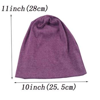 Men Knitted Cotton Hat Skullies Unisex Women Spring Autumn Outdoor Casual Sport Hip-Pop Cap Beanies