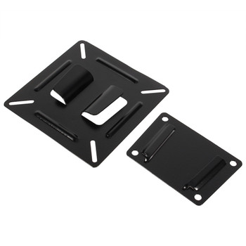 12 - 24 Inch TV Monitor Flat Screen VESA 75/100 LCD LED TV Wall Mount Bracket Flat Panel TV Holder Stand Bracket