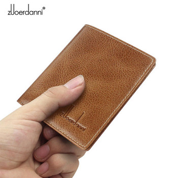 Thin Wallet Men Small Wallets Quality leather Short Purse Male Luxury Vintage Card Holder Cowhide Purses Retro New