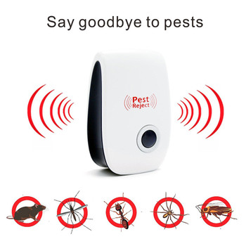 Ultrasonic Pest Reject Electronic Magnetic Repeller Anti Mosquito Insect Reject Bracelet Wristband Protection mosquito US plag