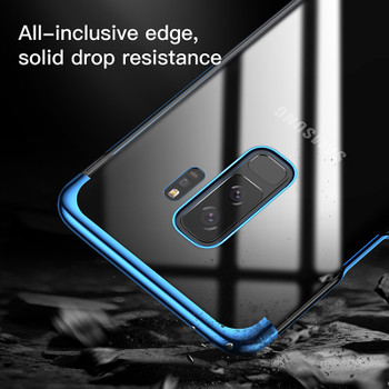 Baseus Luxury Glitter Case For Samsung Galaxy S9 S9 Plus Capinhas Electroplating Hard PC Back Cover For Galaxy S9 S9+ Coque Capa