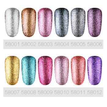 FairyGlo Bling Glitter Nail Polish 10ML Soak Off UV LED Lamp Gel Nail Polish Vernis Ongle Nail Art Nagellak Neon Nail Gelpolish