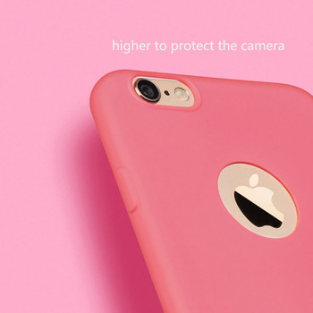 MOUSEMI Soft Case For iPhone 6 8 Plus X Case Protection Silicone Cute Pink Protective Back Phone Cases 5S For iPhone 6s 7 Case
