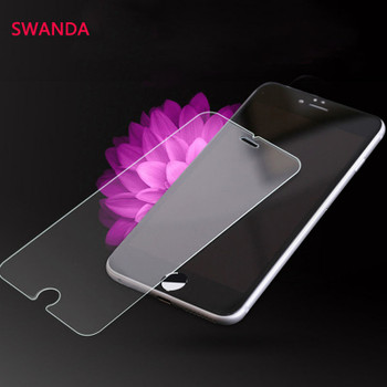 Tempered Glass for iPhone 5 5S SE 7 Plus 9H Hard 2.5D Screen Protector ON iPhone 6 6s 7S X 8 Plus 4 4S Cleansing Case Protective