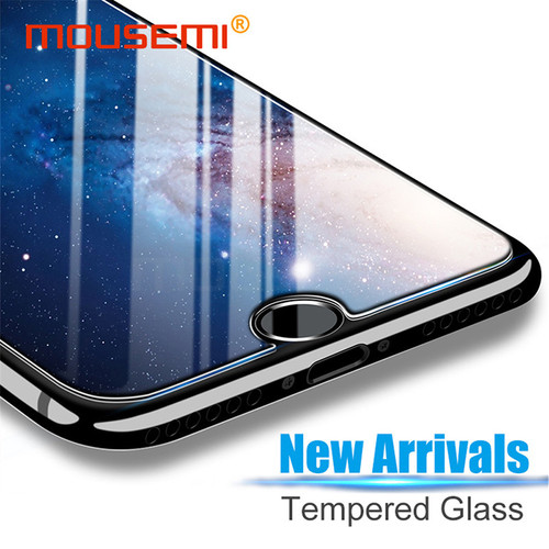 MOUSEMI Protective Glass For iPhone 5s 6 X 7 8 Plus Glass Protection, Screen Protector Film Tempered Glass On 5s For iPhone X 7