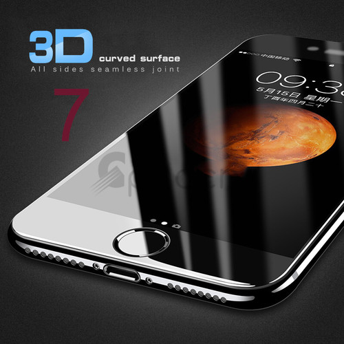 3D 9H Curved Edge Full Cover Tempered Glass For iPhone 7 6 S 6S 8 Plus Screen Protector For iPhone 8 Plus Toughened Protective