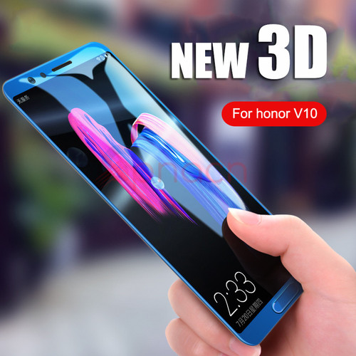 GPNACN 3D Tempered Glass For Huawei Honor V10 9 Lite Honor 8 Lite Full Cover Screen Protective For Huawei P10 Lite Plus Glass
