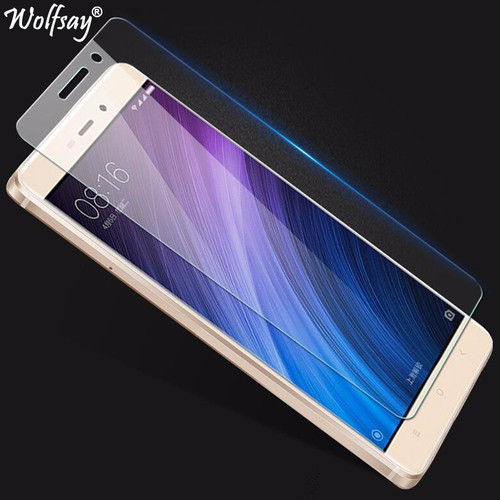 2pcs For Screen Protector Xiaomi Redmi 4A Tempered Glass For Xiaomi Redmi 4A Glass For Redmi 4A Protective Film Wolfsay