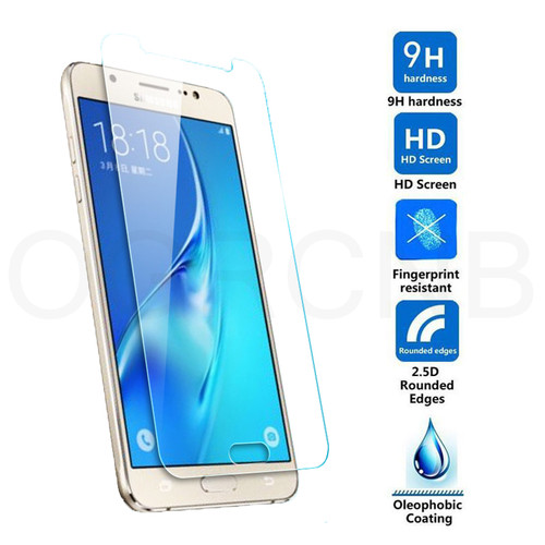 0.28mm 9H Tempered Glass For Samsung Galaxy J3 J5 J7 2017 2016 2015 J310 J510 J710 Screen Protector Film 2.5D Tempered Glass