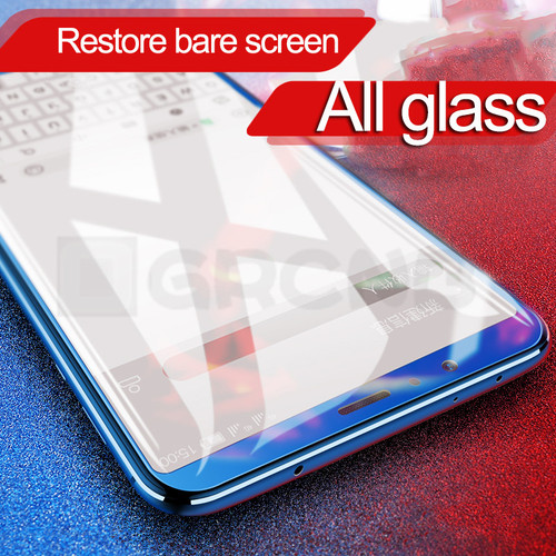 OGRCNB 3D Full Cover Tempered Glass For Huawei Honor 8 9 Lite V10 V9 High Quality Screen Protective Film For Honor 9 8 Glass